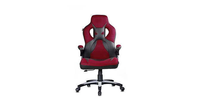 Butler Gaming Chair (Red / Black) by Urban Ladder - -
