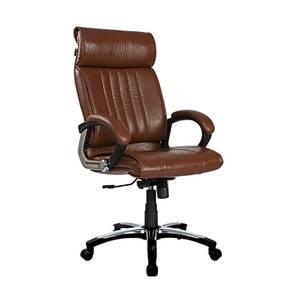 Oswyn Executive Chair (Brown) by Urban Ladder - -