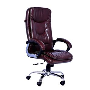 Paley Executive Chair (Brown) by Urban Ladder - -