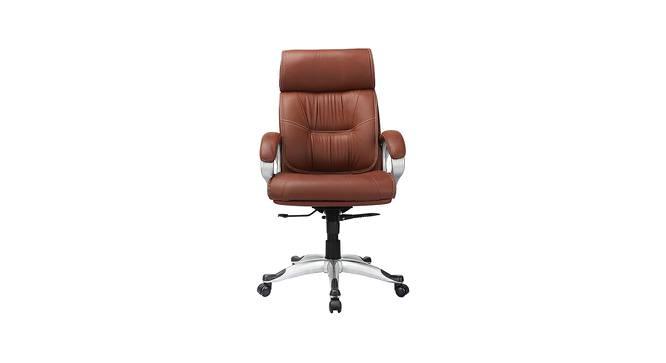 Ransome Executive Chair (Tan) by Urban Ladder - -