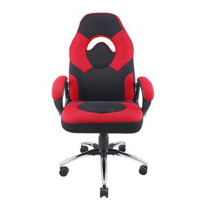 Sandria Gaming Chair (Red / Black) by Urban Ladder - -