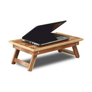 Claire Laptop Table (Natural, Semi Gloss Finish) by Urban Ladder - Design 1 - 354589