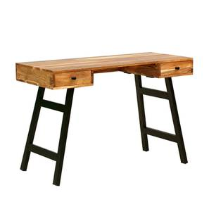 Curtis Study Table (Natural, Semi Gloss Finish) by Urban Ladder - -