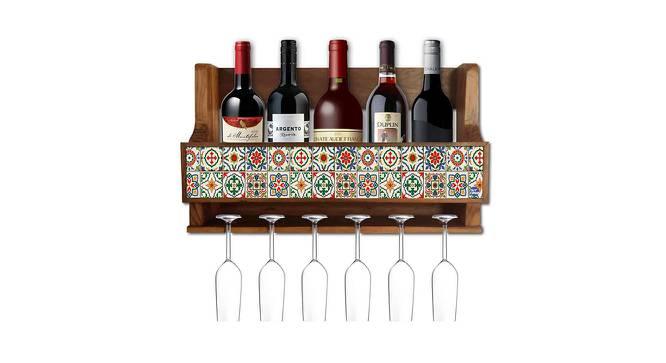 Blakelee Wine Rack (Matte Finish, Multicolor) by Urban Ladder - Cross View Design 1 - 354899