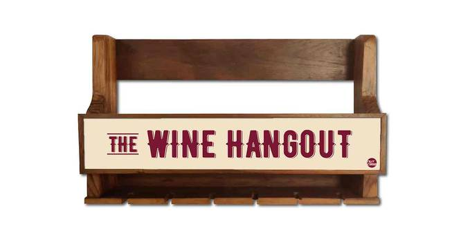 Eddy Wine Rack (Matte Finish, Multicolor) by Urban Ladder - Front View Design 1 - 354934