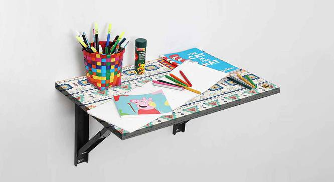 Eloise Study Table (Matte Finish, Multicolor) by Urban Ladder - -