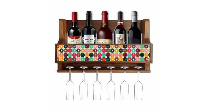 Elvin Wine Rack (Matte Finish, Multicolor) by Urban Ladder - -