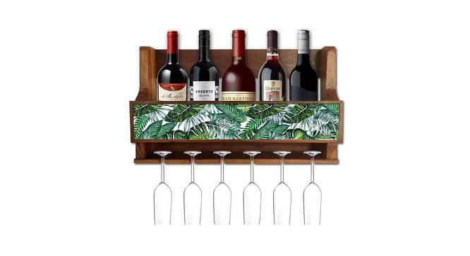 Ryley Wine Rack (Matte Finish, Multicolor) by Urban Ladder - -