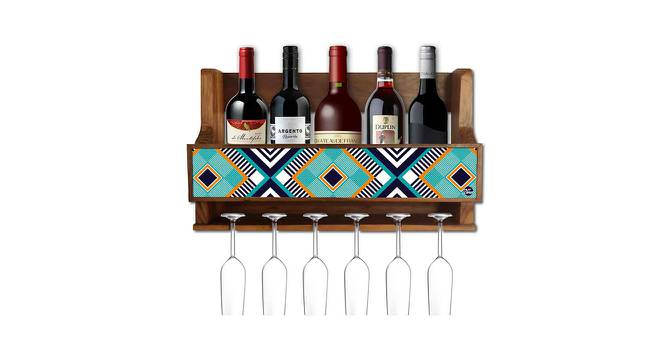 Steele Wine Rack (Matte Finish, Multicolor) by Urban Ladder - -