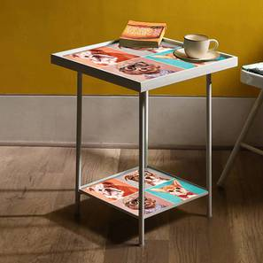 Brooklyn Bedside Table (Multicolor) by Urban Ladder - Design 1 - 355595