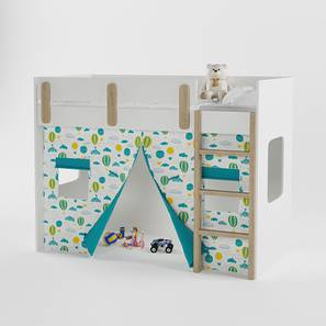 Glamping Bunk Bed-Blue (Blue, Matte Finish) by Urban Ladder - Design 1 - 356467