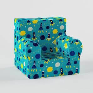 Happy Camper Sofa-Blue (Blue, Matte Finish) by Urban Ladder - Design 1 - 356604
