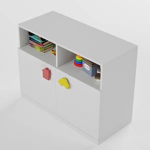 Joy Ride- Storage Cabinet (White, Matte Finish) by Urban Ladder - Design 1 - 356685