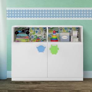 Little-Munchkins Storage - Cabinet (White, Matte Finish) by Urban Ladder - Design 1 - 356702