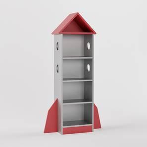 Spacechamp Storage (Matte Finish, Silver Grey) by Urban Ladder - Design 1 - 356731
