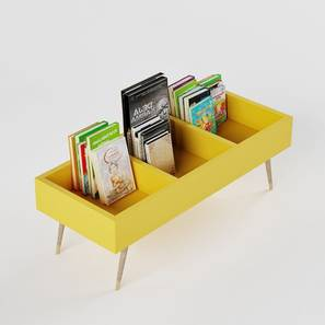 Stack'Em Storage - Yellow (Yellow, Matte Finish) by Urban Ladder - Design 1 - 356742