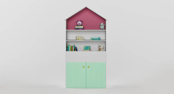 Craft Villa Table (White, Matte Finish) by Urban Ladder - Front View Design 1 - 356853