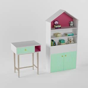 Craft Villa Table (White, Matte Finish) by Urban Ladder - Design 1 - 356857