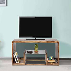 Amigo TV Unit (Teak Finish, Teak Finish) by Urban Ladder - Cross View Design 1 - 356935