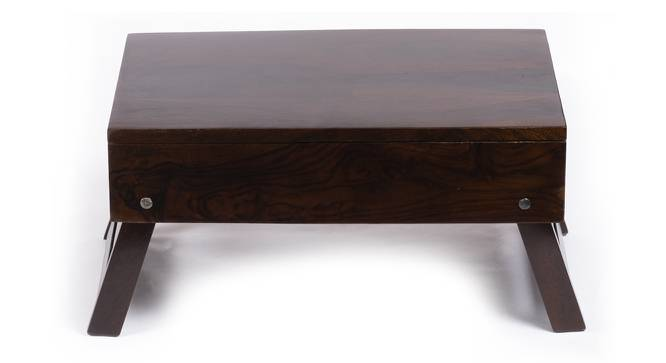 Ohio Laptop Table - Walnut Finish (Walnut Finish, Walnut Finish) by Urban Ladder - Cross View Design 1 - 357733