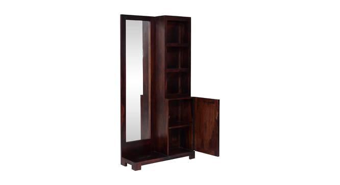 Alexander Dressing Table (Dark Walnut Finish, Dark Walnut) by Urban Ladder - Front View Design 1 - 358158