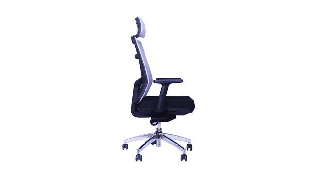 Spine Study Chair - Grey (Grey) by Urban Ladder - Front View Design 1 - 359331