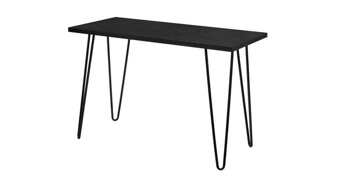 Thar Study Table - Black (Black, Metal Finish) by Urban Ladder - Front View Design 1 - 359502