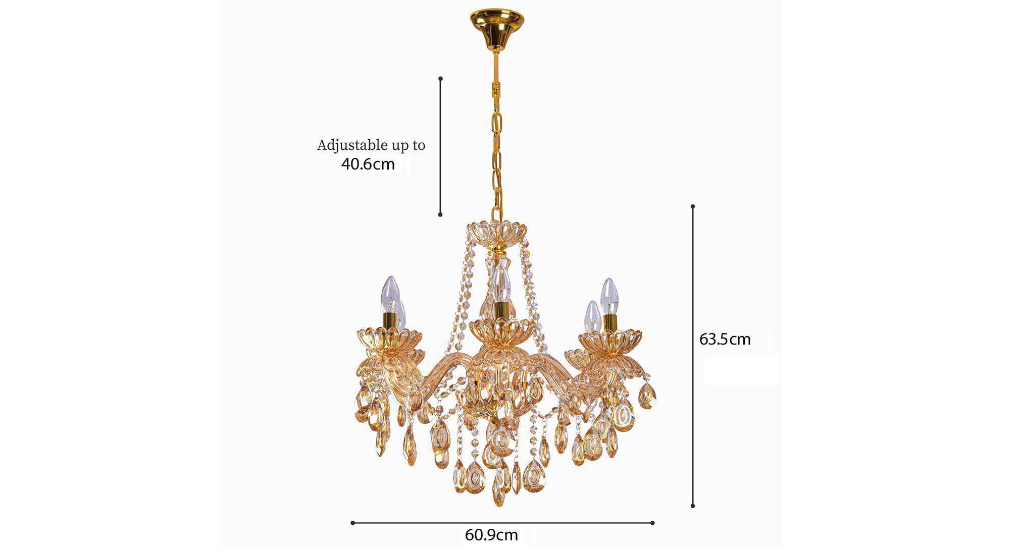 Adeline chandelier 4