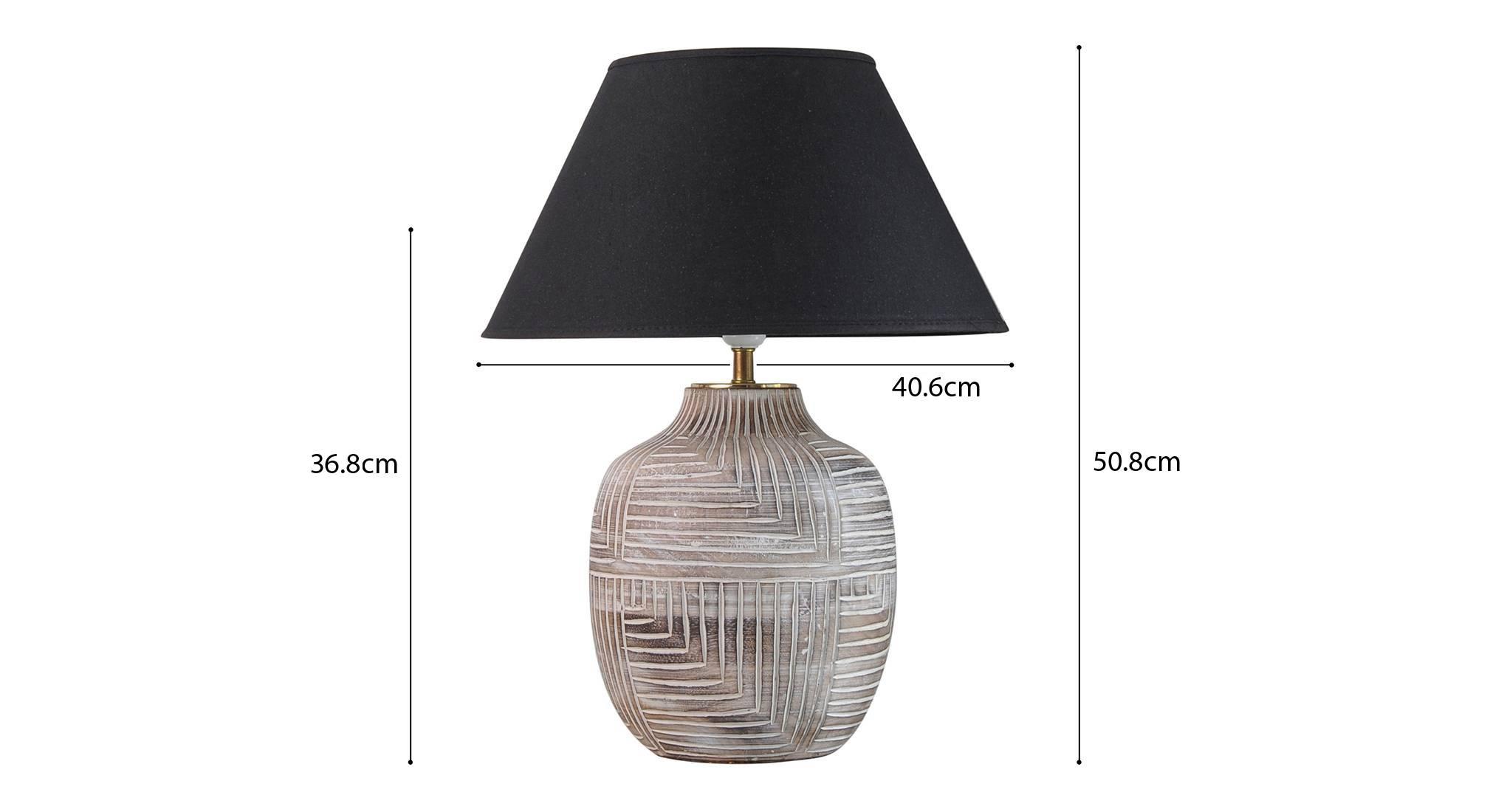Cumberland table lamp black 5
