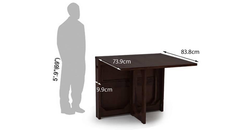 Danton folding dining table mahogany1