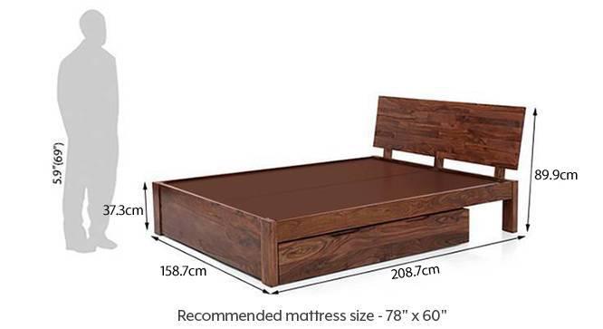 Boston storage bed 67