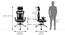 Allan - Dewey Study Set (Black, Cherry Walnut Finish) by Urban Ladder - -