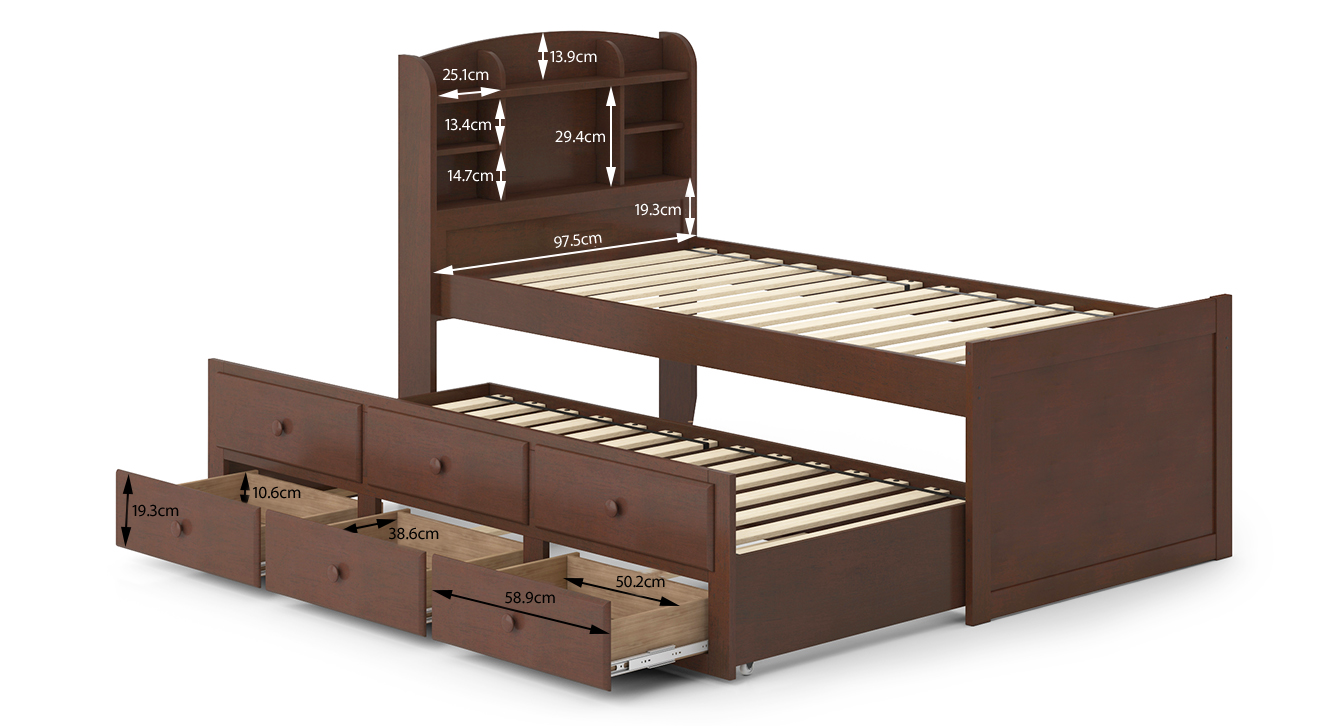 Ateneo trundle bed 6