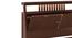 Amelia Smart Storage Bed with Headboard Storage (Solid Wood) (Queen Bed Size, Dark Walnut Finish, Box Storage Type) by Urban Ladder - -