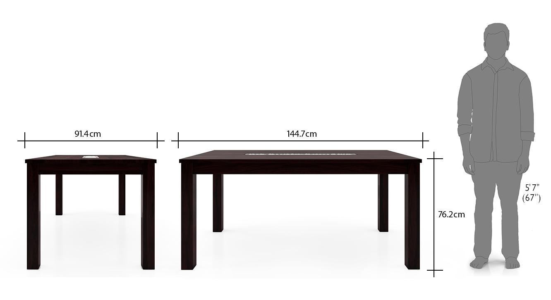 Brighton large aries dining table set mahogany 22