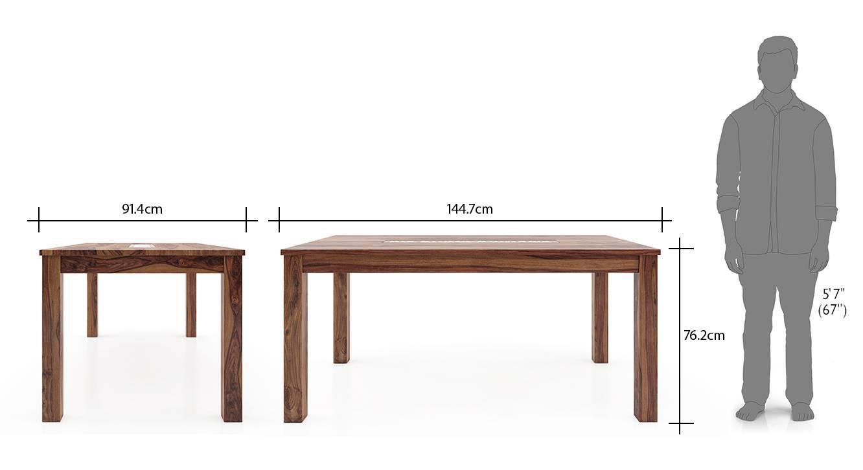 Brighton large kerry 6 seater dining table set tk wb 8