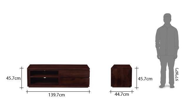 Vector 55 tv unit mahogany 22