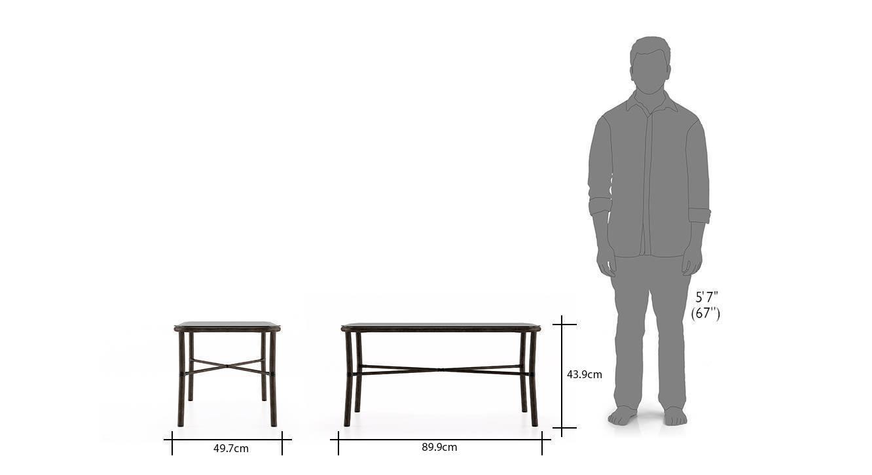 Cirali low height table black 71