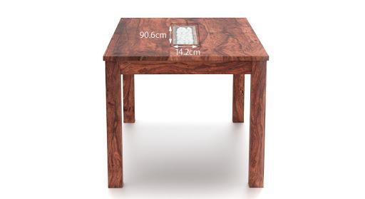 Brighton dining table mahogany finish new 4