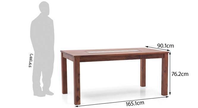 Brighton dining table mahogany finish new 5