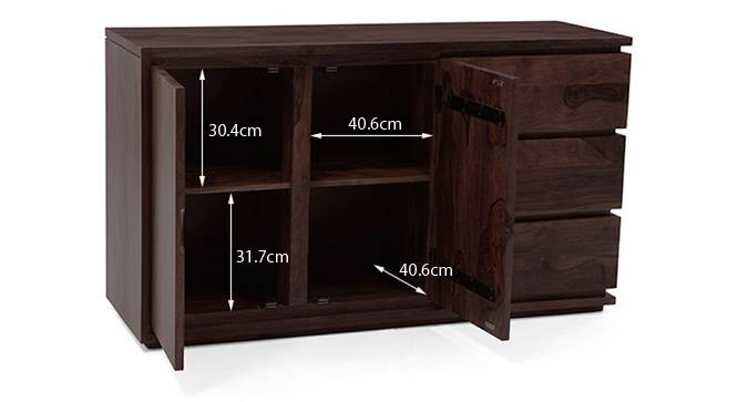 Vector xl sideboard mahogany 16 new