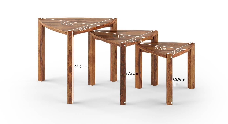 Clapton nested table teak 7