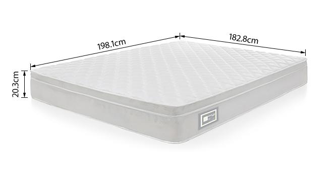 Dreamlite bonnel spring mattress with eurotops king 8
