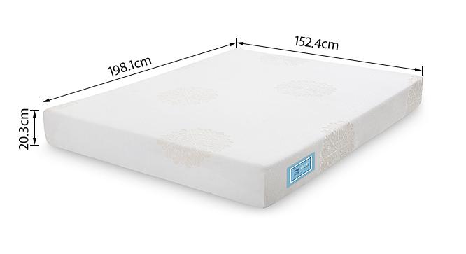 Aer latex mattress with memory foam queen 8