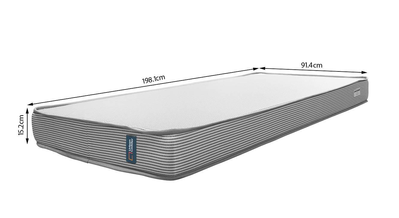 Essential memory foam mattress 08