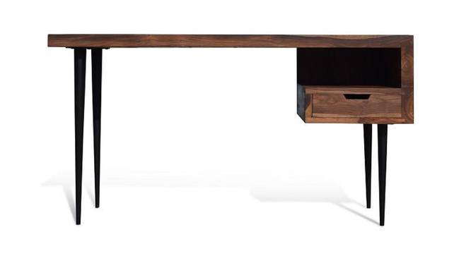 Marianne Study Table (Natural, Semi Gloss Finish) by Urban Ladder - Front View Design 1 - 360805