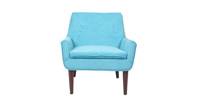 Hall Accent Chair (Blue) by Urban Ladder - Front View Design 1 - 361313