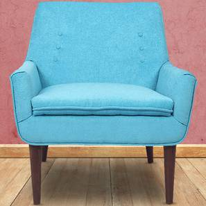Hall Accent Chair (Blue) by Urban Ladder - Design 1 - 361318