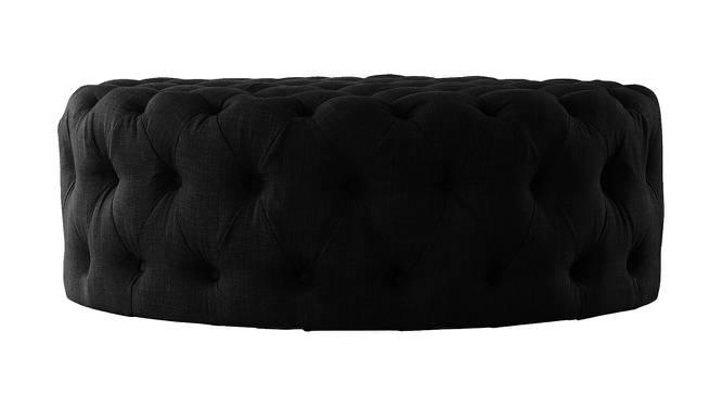 Impeccable Ottoman (Black) by Urban Ladder - Cross View Design 1 - 361353