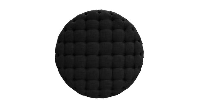 Impeccable Ottoman (Black) by Urban Ladder - Front View Design 1 - 361354